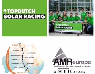 AMR Europe sponsor of #TopDutch Solar Racing
