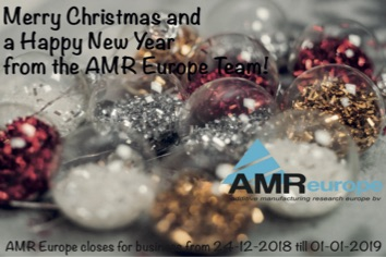 Merry Christmas and a Happy New Year from the AMR Europe Team!
