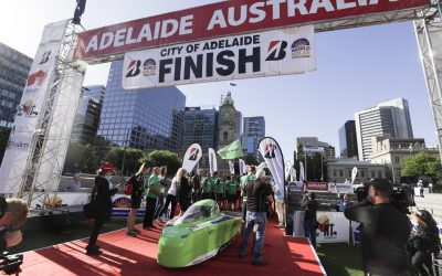 Top Dutch finishes fourth in the Solar Challenge