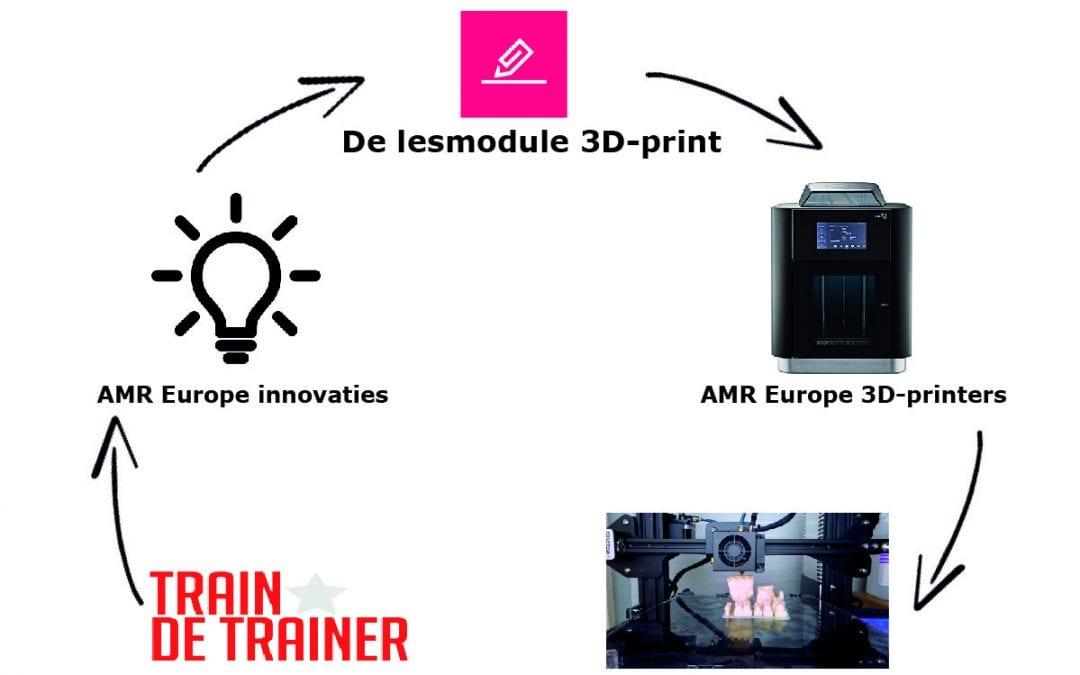 3D printen in het onderwijs met AMR Europe