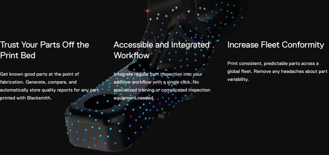 NIEUW: Blacksmith software voor een Markforged X7-printer